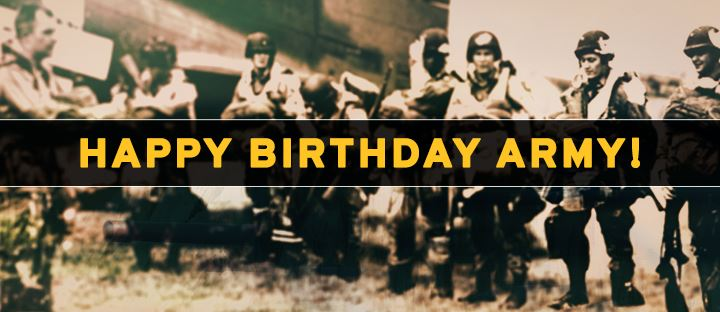 Happy Birthday United States Army